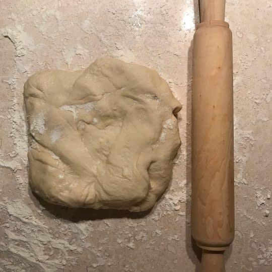 باز کردن خمیر