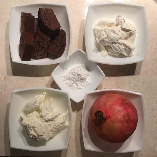 مواد لازم برای تهیه چیز کیک لیوانی