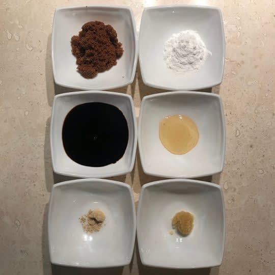 مواد لازم برای تهیه سس تری یاکی