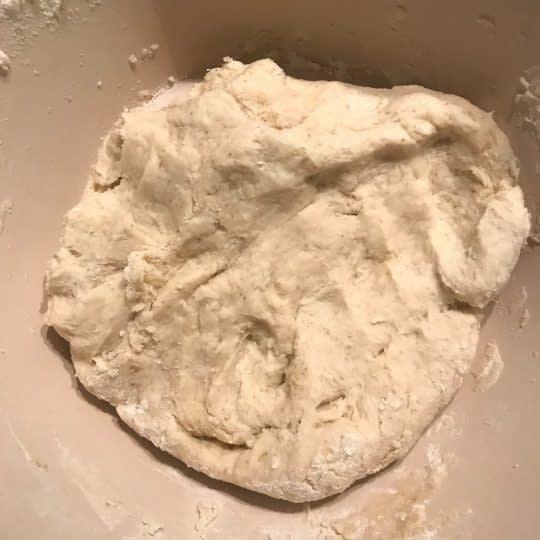 خمیر شکل گرفته