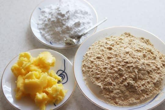 مواد اولیه شیرینی نخودچی