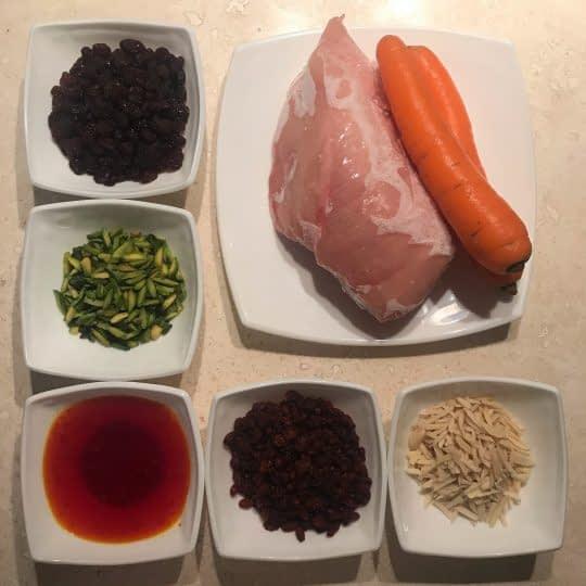 مواد لازم برای تهیه مرصع پلو