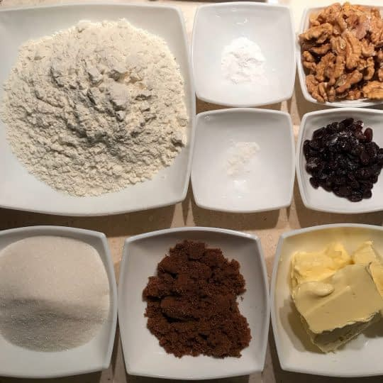 مواد لازم برای تهیه کوکی