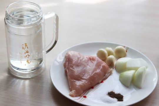 مواد لازم برای پختن مرغ