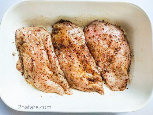 مرینیت کردن مرغ