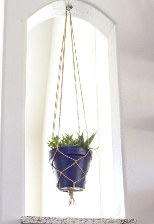 گلدان آویزان