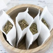 چطور چای کیسه ای (تی بگ) خونگی درست کنیم؟